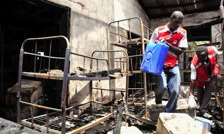 Dormitory inferno kills 8 girls