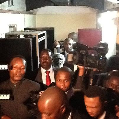 PM Raila Odinga at Nyayo house torture chambers