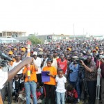 PM Raila Odinga at a function in Kajiado