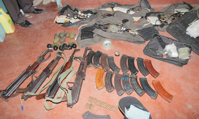 Police seize 15 guns in Migori, pleads with bandits to surrender more