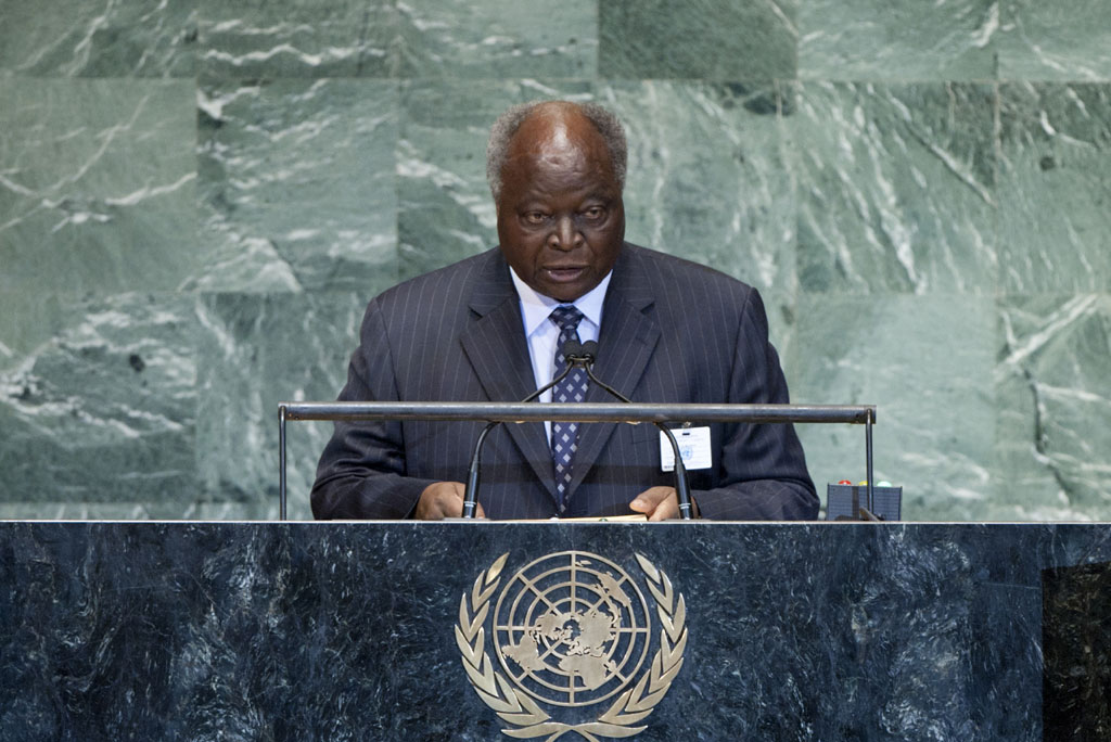 President Kibaki's speech at the UN General Assembly 2012