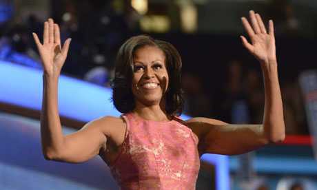 Video: Michelle Obama's speech at DNC
