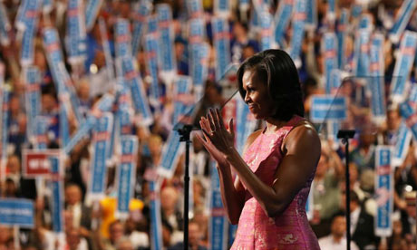 Michelle Obama's speech at the DNC in text