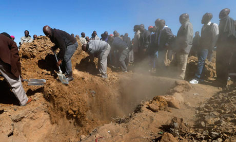 Four miners shot at Modder East goldmine in South Africa
