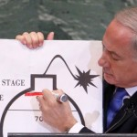 Israel PM proposes a red line to stop Iran nuclear programme
