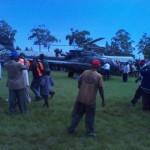Raila arrives in Ndhiwa Constituency