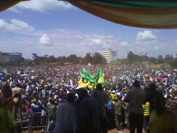 UDF rally in Busia town attended by Musalia Mudavadi