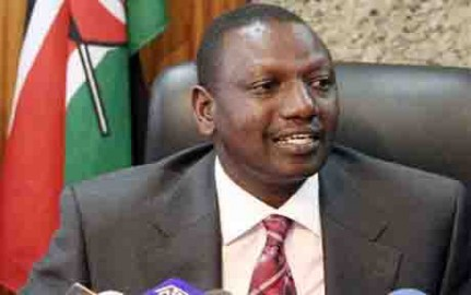 The day William Ruto became host of a TV talk show