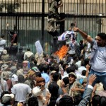 Protesters storm US embassy in Yemen over anti-Islam film