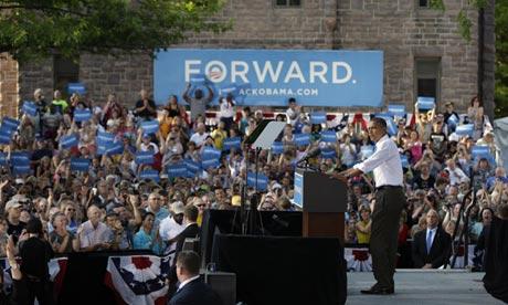 Obama counting on massive ground campaign to win Iowa's electoral votes