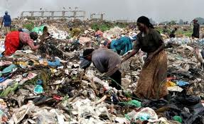 Kenyan rubbish dump offers little money for much misery