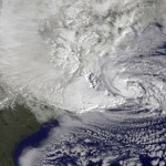 Hurricane Sandy strengthens as it bears down on US east coast