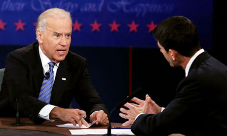 Biden lifts Democrat hopes with forceful VP debate performance