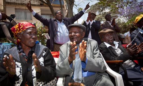 Kenyan Mau Mau veterans celebrate victory in UK torture damages case