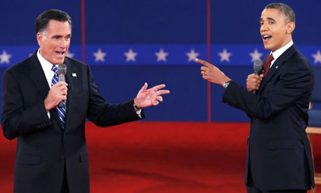 Obama regains the initiative to win second presidential debate
