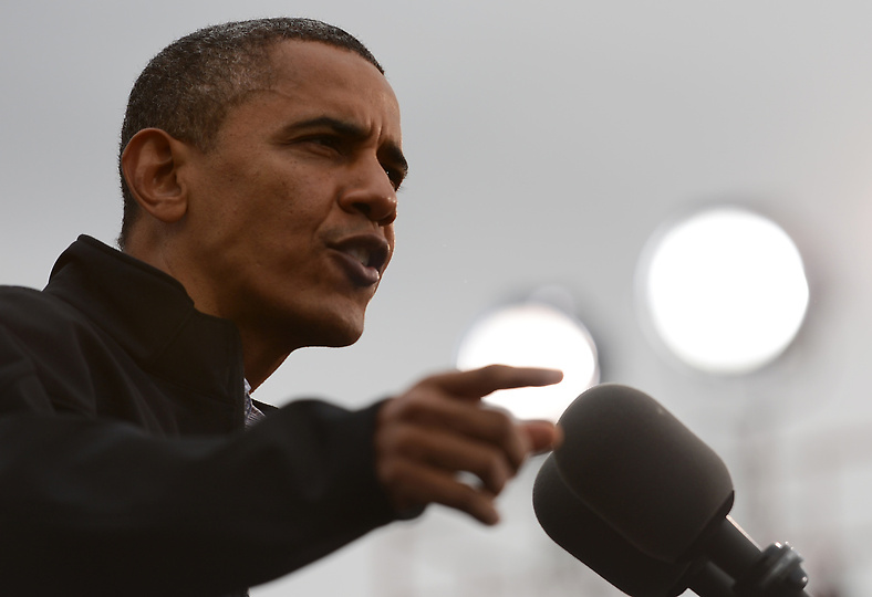 Obama hits back after debate dip and accuses Romney of not telling the truth