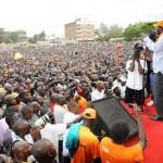 Raila Odinga reloading his party in Dandora Nairobi