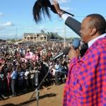 …of Uhuru Kenyatta's presidency and threats of economic sanctions