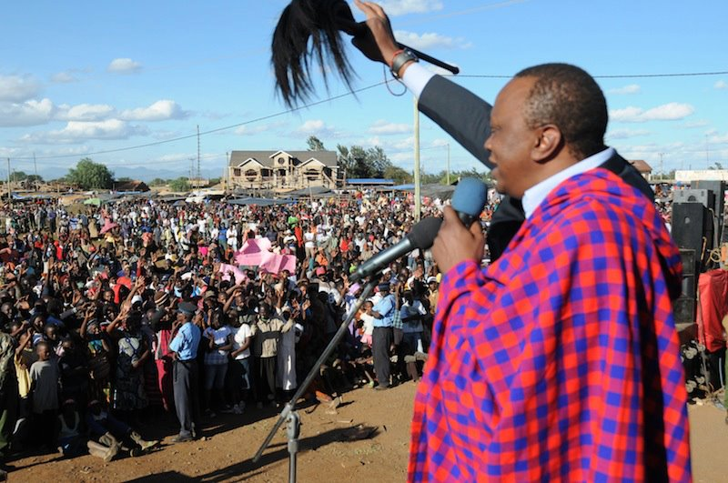 …of Uhuru Kenyatta's presidency and threats of economic sanctions