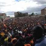 Thousands of ODM supporters turn up for reloading in Nairobi