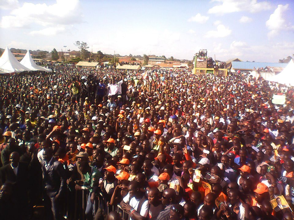 The ODM Kawangware rally that agonized TNA