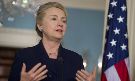 Hillary Clinton launches blueprint for eradication of Aids
