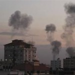 Gaza rockets land near Jerusalem as fears of ground offensive grow