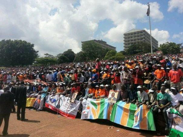 CORD: Uhuru Park Filled To Capacity!