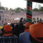 CORD launch: Sea of humanity at Uhuru Park