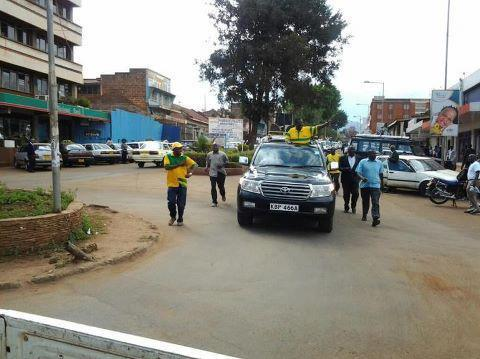 PHOTO: HOW DP Ruto will Welcome himself in Nyeri come 2022, Hon Mudavadi did it in 2013