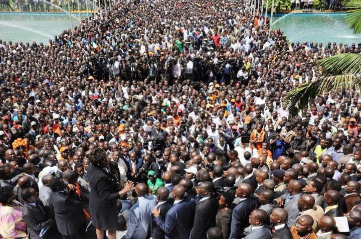 …and humanity flooded at KICC to witness Wiper join ODM!