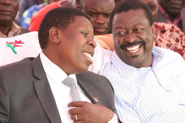 Revealed: Musalia Mudavadi, Eugene Wamalwa  Working for Jubilee Alliance