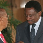 Archives: 5 years ago; James Orengo confronts Kivuitu and PNU goons at KICC