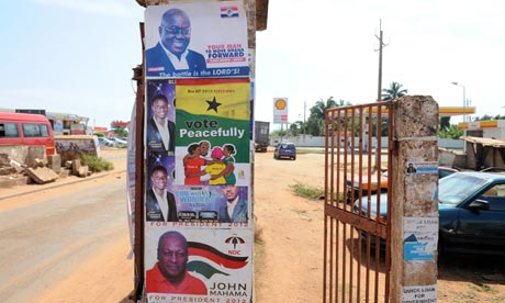 Ghana makes peace a priority in election campaign
