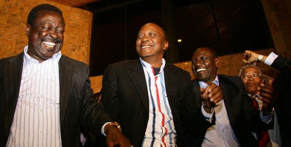 Revealed: How and Why Mudavadi was lured to join Uhuru Kenyatta's TNA/URP Alliance
