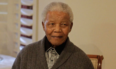 Nelson Mandela admitted to hospital for tests