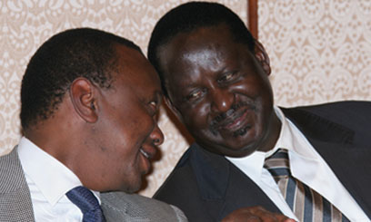 Jubilee Accused Of Flawed Poll; Jubilee 45%,CORD 32%, Amani 11%