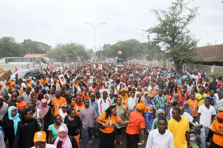 Show of Mighty: Hassan Joho Launching Mombasa County Manifesto