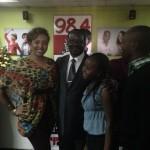PM Odinga At Capital FM's Morning Show