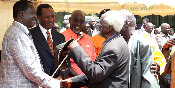 Healing The Rift; Raila's Solemn Promise To The Kalenjin
