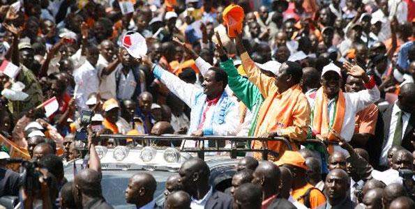 Video: Raila Odinga's Full Speech At The Uhuru Park Rally