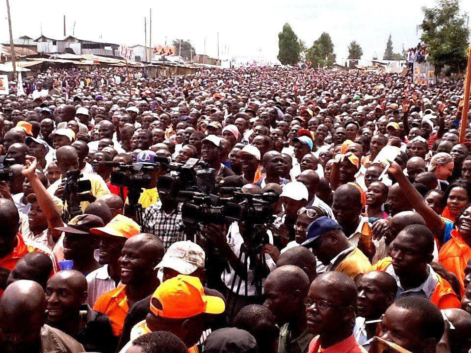 Raila got the masses