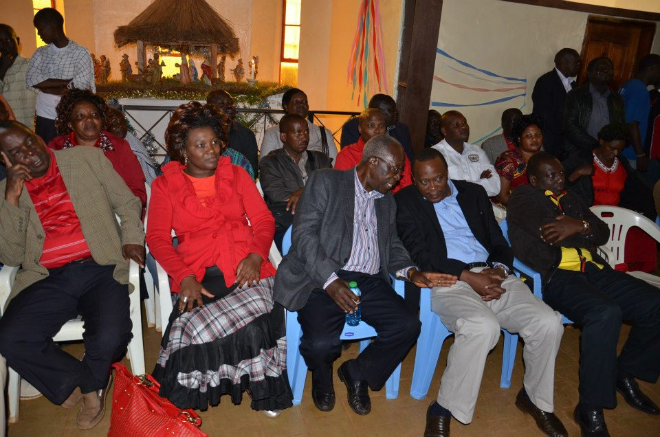 Jubilee team at a church service- Tabaka Catholic Church