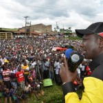 Low turn out for Jubilee rallies, day II of the Kisii tour.