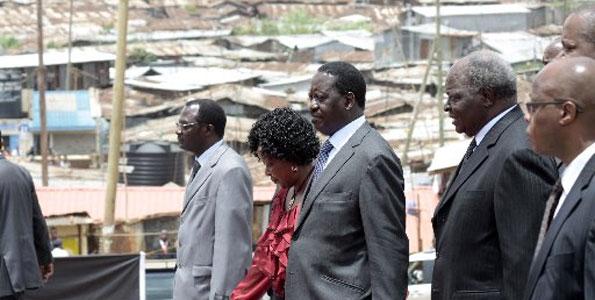 Putting The Kibera Slum Issue To Rest….
