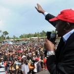 Uhuru's disgraceful perfomance at treasury put on spot in Kisii