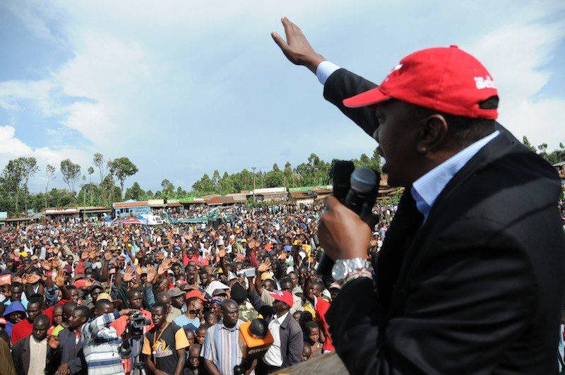 Uhuru's disgraceful perfomance at treasury put on spot in Kisii