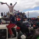 Nyeri comes to a standstill