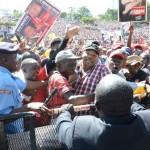 Waititu Making A grand Entry At Uhuru Park -Embakasi Style
