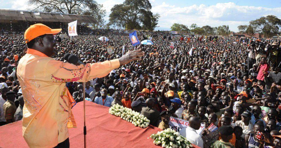 Mass Of Humanity; CORD Rally – Kitale
